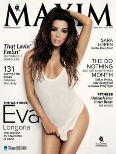 Gabrielle Solis, Free Beauty Samples, Free Makeup Samples, Desperate Housewives, Maxim Magazine Covers, Elle Magazine, Magazine Rack, Eva Longoria Style, Maxim Cover