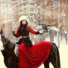 Lady Hawk. Love it.