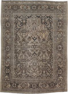 Antique Tabriz Rug, No. 19278 - via galerieshabab.com
