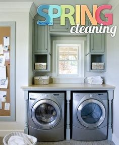 Spring Clean your Laundry Room the green way - with Norwex!
