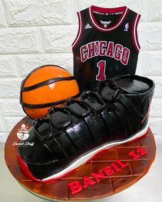 Chicago Basketball Jordan Shoes Inspired 👟👟 Chicago Basketball, Cakes For Boys, Jordan Shoes, Jordans, Birthday, Inspiration, Biblical Inspiration, Birthdays, Dirt Bike Birthday