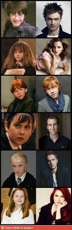 Harry Potter actors. There is magic involved here!