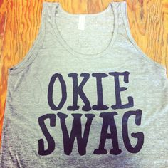 Okie Swag tanks...Grand Opening of GHC 2.0 is 6/15/13 at 3310 S Yale Ave Tulsa, OK 74135