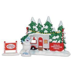 Department 56 Rudolph Bumbles Tree Lot Figurine 55Inch -- You can get additional details at the image link.