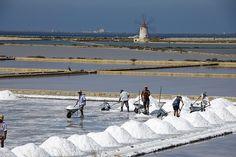 Salt Pans Trapani, Sicily