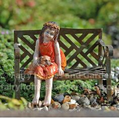 Garden Fairy Fawn Gardens Fairies and Home and garden