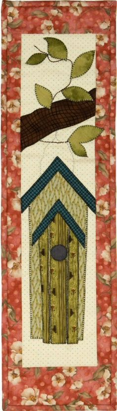 Patch Abilities Inc. Available at www.patchabilities.com P109A Double Birdhouse (That's For the Birds!)