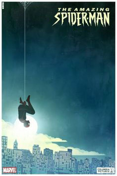 spiderman poster - minimalist done right.