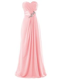 Dresstells Long Chiffon Dress with Beadings Bridesmaid Dresses Wedding Dress Pink Size 2 Dresstells http://www.amazon.com/dp/B00M952SEK/ref=cm_sw_r_pi_dp_DmOTub1H8VVAE
