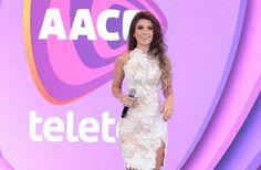 Paula Fernandes vai encerrar o Teleton 2016 ao lado de Silvio Santos