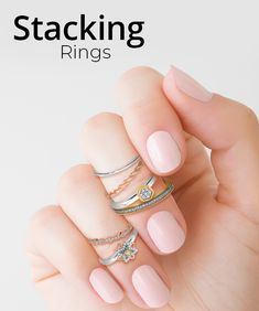 Take your ring stacking to the next level with diamonds, gemstones, gold, and sterling silver styles to mix and match. Your customers will be a stacking success with a wide variety of metals and designs. Stack up today: #QualityGold #StackableRings #Rings #GoldJewelry #DiamondRing #GemstoneRings #GoldRings #SterlingSilver
