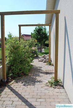 byasten,trädgårdsportal
