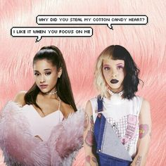 Melanie Martinez and Ariana Grande Edit! ❤