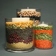 food storage centerpieces thanksgiv centerpiec, holiday centerpieces, candy corn, candles, candies, baby boomers, food storage, fall decorating, thanksgiving centerpieces