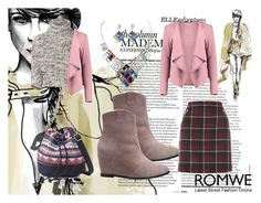 """""""Romwe 7"""" by dinka1-749 ❤ liked on Polyvore featuring Brunello Cucinelli and Boohoo"""