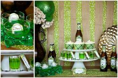 St. Patrick's Day Party Ideas   Free Printables on http://pizzazzerie.com