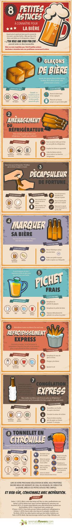 Got beer? Got no fridge or beer opener? No worries, with these beer hacks you'll find no excuse not to get the beers out. More Beer, All Beer, Wine And Beer, Best Beer, Beer Brewing, Home Brewing, Cocktails Vin, Beer Infographic, Beer Quotes