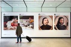 Parallèles, Gare St Lazarre : 10 instagrameurs exposent leurs remakes de 10 œuvres iconiques