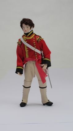 Find out how to make this Regency Captain Wickham in uniform costume in the May 2013 issue of Dolls House and Miniature Scene magazine. You can buy the print issue online at www.dollshousemag.co.uk or download the digital edition https://itunes.apple.com/gb/app/dolls-house-miniature-scene/id595981649?ls=1=8