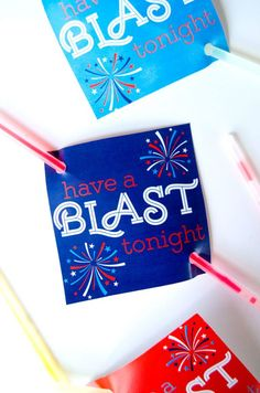 DIY Fourth of July printable from MichaelsMakers  Love the Day & The Idea Room