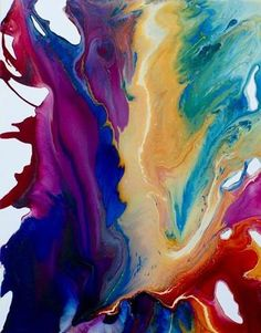 Rainbow by Krispen Spencer--love, love, love the colors used--beautiful!!