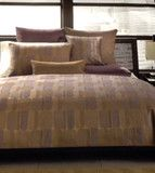 Hotel Collection Otto Quilted Euro European Pillow Sham Violet Purple