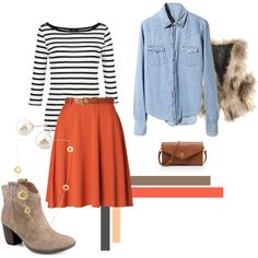 Fall Outfit different shoes.