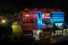#Firmenevent von 3 Austria zur Fusion mit Orange in Event-Zelthalle