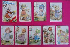Vintage Anneliese playing cards / Baraja de cartas Anneliesse de Fournier | Flickr - Photo Sharing!