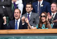 Prince William and Kate return to Wimbledon to watch Djokovic and Federer final