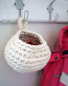 Ravelry: Crocheted Baskets pattern by Summer Brodbeck
