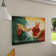 Painel decorativo Sagrado Coração de Jesus (Sacred Heart of Jesus)