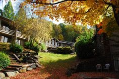 (Fall colors around Fontana Village Resort - Fall 2013)  Maybe we should plan a family vacation here for the summer of 2014.