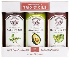La Tourangelle Trio of Oils Roasted Walnut Hazelnut Avocado  25 Ounce -- To view further for this item, visit the image link.