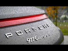Porsche 911 Carrera 4S (991) driving video with engine sound