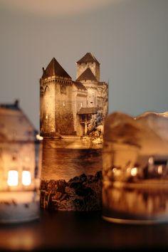 DIY: paper house lanterns