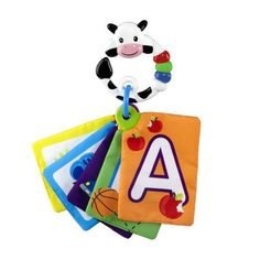 Baby Einstein Animal Discovery Traditional Flashcards, Cow by KIDS II. $6.99. From the Manufacturer                Animal Discovery Cards are a unique set of 29 experiences that can be used as traditional flashcards or in concert with several of our animals-themed videos, books, or other products. These cards give babies the oppurtunity to enjoy animals in their natural environment.                                    Product Description                Baby Einstein Animal...