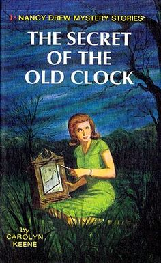 I was obsessed with the Nancy Drew Mysteries when I was in 4th grade.  I think I read almost all of them.