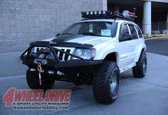 2009 Sema Show White Jeep Grand Cherokee Wj