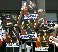 Personas coherentes y simpatizantes del Capitán General Don Augusto Pinochet Ugarte
