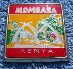 Mombasa Kenya Car Badge