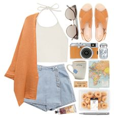 """""""The Traveller"""" by child-of-the-tropics on Polyvore cute. Not sure if it's possible to pull off the bottoms though"""