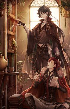 Anime Cosplay Bungou to Alchemist Manga Anime, Manga Art, Anime Art, Hot Anime, Anime Cosplay, Character Inspiration, Character Art, Image Manga, Anime Kunst