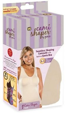 50db548954ffe Cami Shaper by Genie (Beige) Large Beige