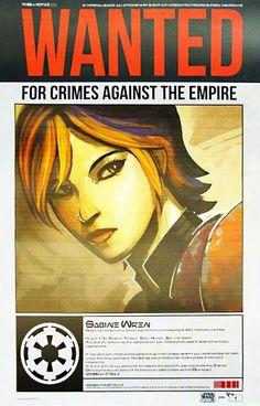Wanted: Sabine Wren