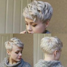 Cute pixie hair style