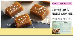 The Bumble Bee Blog Caramel Recipes, Candy Recipes, Beehive Cupcakes, Chocolate Thumbprint Cookies, Honey Caramel, Cranberry Salad, Food Hacks, Food Tips, Recipe Cards
