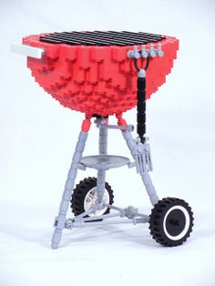 LEGO Weber Grill by DR.Church, via Flickr