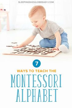 Wondering how to teach your child the Montessori alphabet, including what order? Discover 7 little-known but effective ways to teach children letters the way and make learning fun! Even includes FREE sample worksheets of the alphabet! Montessori Preschool, Preschool Letters, Kindergarten Activities, Play Based Learning, Learning Activities, Kids Learning, Learning Tools, Toddler Activities, Teaching Letter Sounds