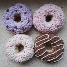 Crochet doughnuts inspiration